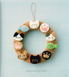 Cute Wool Felt Zakka Japanese Needle Felting by JapanLovelyCrafts