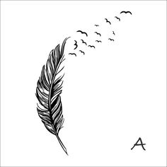 8408 0.7 Left right flying feather wall stickers home decor adesivo de parede home decoration wallpaper wall sticker