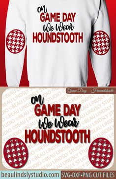 Houndstooth SVG, Game Day SVG, Elbow Patch SVG file for Cricut, Alabama svg files for silhoue… – Basic Game Day Shirts Vinyl Monogram, Monogram Design, Monogram Shirts, Tee Shirts, Alabama Football Shirts, Game Day Quotes, Cute Shirt Designs, Game Day Shirts, Elbow Patches