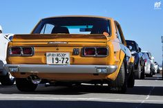 Fuji Speedway, Hakosuka, スカイライン、ハコスカ、Skyline. by hightopfade