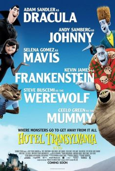 Hotel Transylvania, one of the cutest movies ever and I got to watch it in a theater with just Allen and me :D