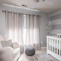 Gray Nursery Design, Pictures, Remodel, Decor and Ideas