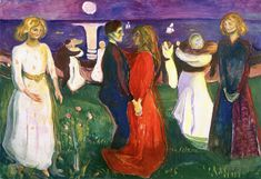 The Athenaeum - The Dance of Life (1925) (Edvard Munch - )