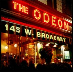 The Odeon in my old hood