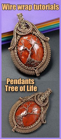 Wire wrapped tree of life tutorial PDF. Wire Wrapped jewelry tutorials. Wire Wrap tutorial Step by step. DIY Pendant Tree of Life. The book has 160 pages, more than 300 high-resolution photos. After studying the lessons you can independently make four pendants Tree of Life. I use copper wire in my tutorial. And this does not necessarily mean that you should use copper wire. Use any wire. Wire Wrapped Pendant, Wire Wrapped Jewelry, Wire Weaving Tutorial, Handmade Wire Jewelry, Tree Of Life Pendant, High Resolution Photos, Copper Wire, Metal Working, Wire Wrapping