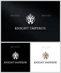 Knight Emperor - Logo   EPS Template • Download ↓ https://graphicriver.net/item/knight-emperor-logo-template/13795971?ref=pxcr