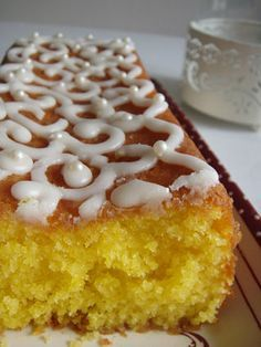 Cake au citron/noix de coco