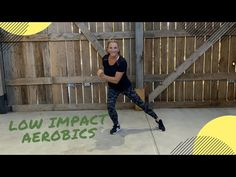 30 min FUN low impact aerobics and 5 min abs for everyone! - YouTube 5 Min Abs, Low Impact Workout, For Everyone, Aerobics, Fitness Tips, Exercise, Yoga, Health, Youtube