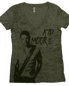 71dbd478 I own this and love it, KIP MOORE Burnout Tee, Secret Closet, Dream