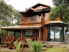 Casas de madeira pré-fabricada - fotos, preços 25