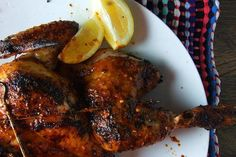 Barbecued Chicken Thighs with Brown Sugar-Hickory Sauce Recipe