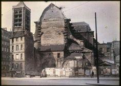 L'église Saint-Nicolas du Chardonnet à l'angle rue des Bernardins et de la rue Saint-Victor, 5ème arrondissement, Paris. | Paris Musées