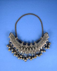 Africa | Necklace from the Harrar people of Ethiopia | Silver