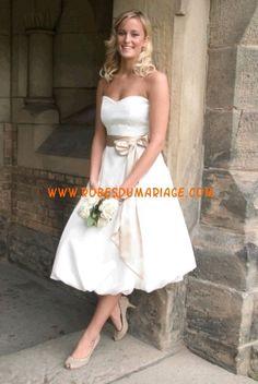belle robe de mariée sans bretelle lo...  Robe de mariée simple ...