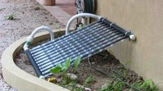 Napkollektor házilag Solar Collector, Outdoor Tables, Outdoor Decor, Diy Solar, Petra, Solar Power, Sun Lounger, Beach Mat, Projects To Try