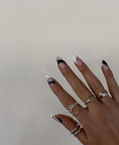 Simple Acrylic Nails, Best Acrylic Nails, Simple Nails, Milky Nails, Nagellack Design, Acylic Nails, Nail Jewelry, Jewellery, Fire Nails
