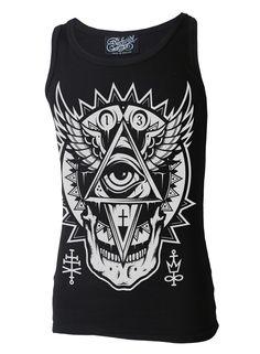Darkside - All Seeing Eye Beater Vest