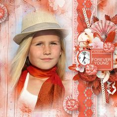 Forever Young by Ilonka's Scrapbook - Digishoptalk - The Hub of the Digital Scrapbooking Community