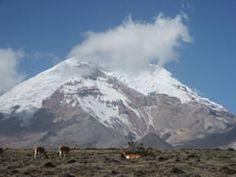 Chimborazo - Ecuador. Tallest mountain above Earth's center.