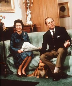 The Queen and Duke of Edinburgh are at Balmoral relaxing with their corgis [Anwar Hussein/PA Photos]