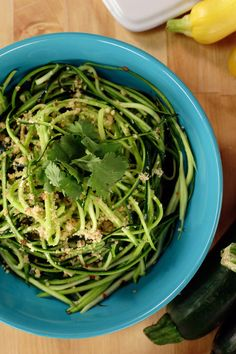 Packed with protein, this deliciously comforting and Paleo-friendly zucchini noodle aglio e olio will change the way you think about pasta forever. With a ton of different ways to make vegetable noodles with or without a spiralizer, there's no excuse to not make a big bowl of this the next time you're craving that Italian classic.