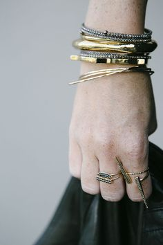 accessories: stacks and stacks via Could I Have That?