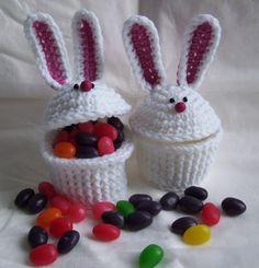 KTBdesigns: Bunny Cupcakes