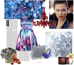 """""""Frozen flowers"""" by bonnieai on Polyvore"""
