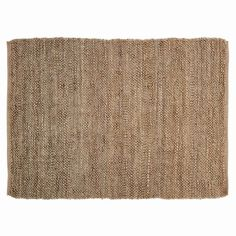 Minneka Natural Rectangle Braided Rug 4x6'  Measures:4x6' Colors:natural tan Made from 100% natural jute Spot clean or dry clean only   Create a warm, welcoming look in your entryway when you add