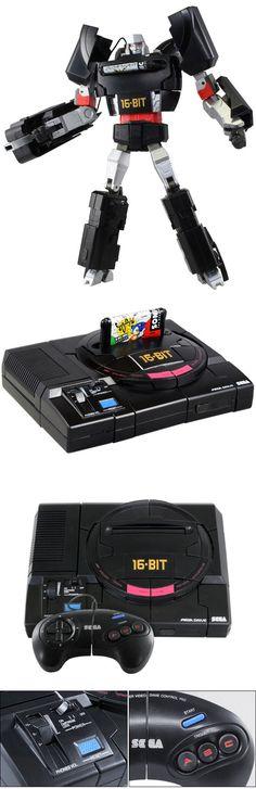 #Transformers Playstation et #Megadrive ⋆ Geek Dad Power!