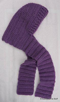 Tween hooded scarf pattern