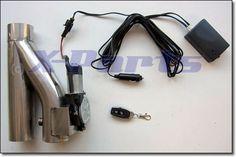 Klappenauspuff System Auspuffklappe mit Fernbedienung 76 mm