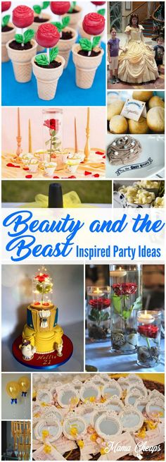 16 Beauty and the Beast Inspired Party Ideas