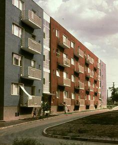 A hernyóktól a bérházakig – így épült meg a Selyemrét Hungary, Multi Story Building