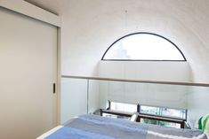 Sale of the Month: Frobisher Crescent, Barbican, London Barrel Vault Ceiling, Circular Buildings, One Bedroom Flat, Barbican, Open Plan Living, London, Architecture, Interior, Modern