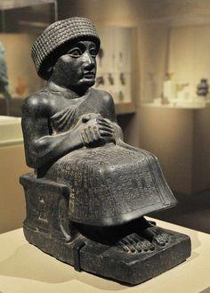 Seated Gudea of Lagash -