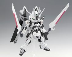 GUNDAM GUY: SD + HGCE Noir Impulse Gundam - Custom Build