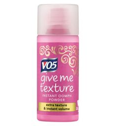V05 Give Me Texture Instant Oomph Powder 7g - Boots