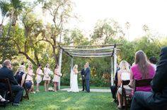 Historic Ranch Hosts An Outdoor Wedding