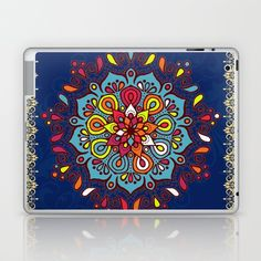 Buy Moroccan Art Traditional Floral Design Laptop & iPad Skin by mr0frankenstein. Worldwide shipping available at Society6.com. Just one of millions of high quality products available.