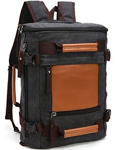 PackBags Canvas Outdoor Hiking Travel Backpack Vintage Shoulder bag >>> Check out the image by visiting the link.Note:It is affiliate link to Amazon.
