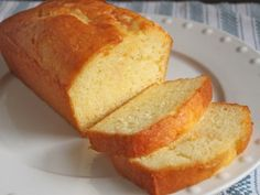 """GLUTEN-FREE GRAPEFRUIT CAKE - """"A rich and moist gluten free cake soaked in an aromatic grapefruit glaze. Grapefruit zest adds a burst of sunny citrus flavor to this dense and surprisingly lower-fat pound cake. Gluten Free Cakes, Gluten Free Desserts, Gluten Free Recipes, Bread Recipes, Dessert Recipes, Gf Recipes, Cupcake Recipes, Recipies, Grapefruit Cake"""