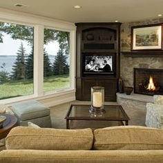 Living Room Layout With Fireplace Awkward.LoveYourRoom: Small Awkward Living Room Becomes Beautiful. How To Decorate Awkward Shaped Living Rooms: 5 Ideas To . Front Door Opens Into Living Room Layout Not Inviting . Living Room Furniture Layout, Living Room Furniture Arrangement, Living Room With Fireplace, New Living Room, Living Room Designs, Small Living, Modern Living, Cozy Living, Arranging Furniture