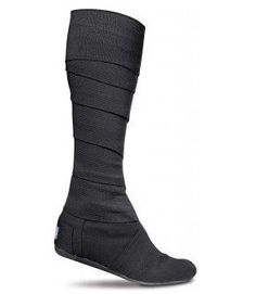 """OMG ARE THESE REAL?  This is truly the ugliest thing I have seen all month. """"Toms Shoes Women Vegan Wrap Black Boots"""""""