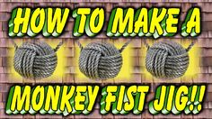 How to Make A Paracord Monkey Fist Jig Paracord Tutorial, Paracord Knots, Rope Knots, 550 Paracord, Paracord Bracelets, Paracord Projects, Paracord Ideas, Strong Knots, Monkey Fist Knot