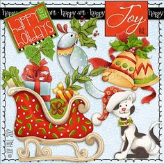 Christmas Joy :: Collections :: Clipart and Graphics :: Aimee Asher Boutique