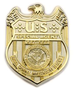 NCIS Retired Badge