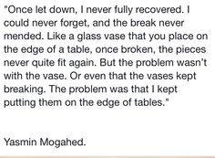 Edges of tables Yasmin Mogahed