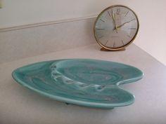 Devoted Mid Century Retro 50 S Carltonware Small Divided Dish Yellow Pottery & Glass Carlton