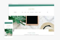 Jade - A Theme for Creatives by codedcreative on @creativemarket